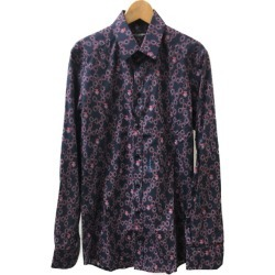 Dolce and Gabbana long sleeves shirt floral design G5EJ1T FS56E men SIZE 15/38 (S) DOLCE & GABBANA like-new at 9/2 18:00 until - 9/3 23:59