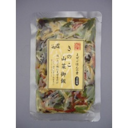 Mushroom edible wild plant rice one piece of article [cancellation, change, returned goods impossibility]
