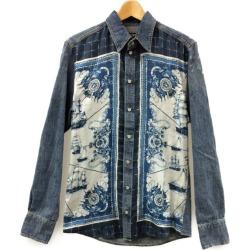 Beautiful article dolce and Gabbana denim long sleeves shirt G5EO4D G8V06 men SIZE 39 (M) DOLCE & GABBANA