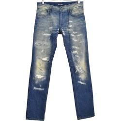 DOLCE & GABBANA repair processing denim underwear