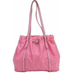 PRADA (Prada) shoulder bag / tote bag BR3919 pink nylon X leather netshop
