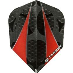 It is flown a dart flight dart (dart flight dart feather) TARGET (target) VISION (vision flight)