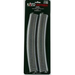 Kato 2-250 HO Unitrack 31-1/8