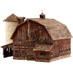 Woodland Scenics PF5211 N Rustic Barn Building Kit found on Bargain Bro Philippines from Trainz for $40.99