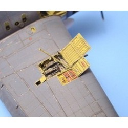 Aires Hobby 7088 1:72 F6F3/5 Hellcat Gun Bay For ACY found on Bargain Bro India from Trainz for $12.99