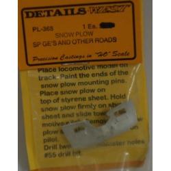 Details West 368 Snow Plow