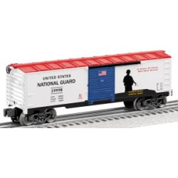 Lionel 6-29998 O USA/ National Guard Boxcar found on Bargain Bro Philippines from Trainz for $37.99