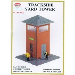 Model Power 551 HO Scale Trackside Yard Tower Building Kit