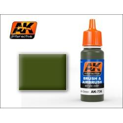 AK Interactive 736 Spanish Green Acrylic Paint 17ml Bottle
