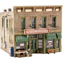 Woodland Scenics PF5200 N Scale Fresh Market Building Kit