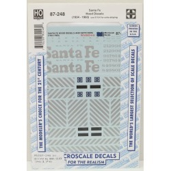 Microscale 87-248 ATSF Hood Diesel Decals (Silver) found on Bargain Bro India from Trainz for $7.69