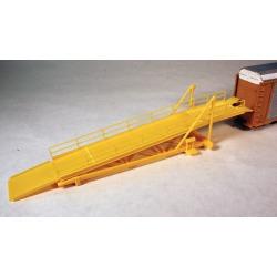 A-Line 50607 HO Auto Rack Loading Ramp Kit (Yellow)