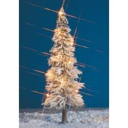Busch 8624 Christmas tree w/9 lights