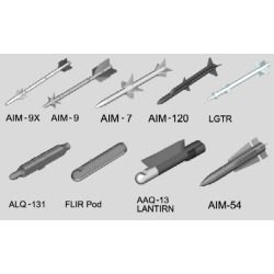 Trumpeter Models 3303 1:32 US Aircraft Weapons Set: Air-to-Air Missile found on Bargain Bro Philippines from Trainz for $29.49