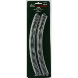 Kato 20-132 Curved Track R348-45 (4) found on Bargain Bro Philippines from Trainz for $8.99