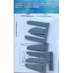 Aires Hobby 4293 1:48 P39 Control Surfaces For EDU (Resin) found on Bargain Bro India from Trainz for $12.99