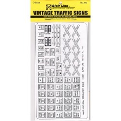 Blair Line 242 O Vintage Regullatory Signs found on Bargain Bro India from Trainz for $8.00