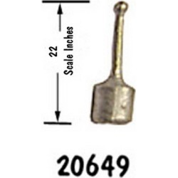 B.T.S. 20649 HO Control Lever brass found on Bargain Bro India from Trainz for $2.00