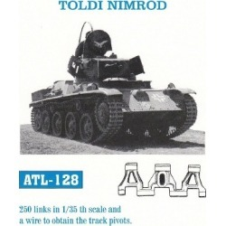 Friulmodel ATL-128 1:35 Toldi Nimrod Track Set (250 Links) found on Bargain Bro India from Trainz for $59.99