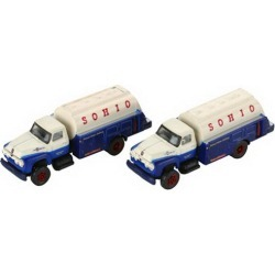 Classic Metal Works 50299 N Mini Metals 1954 Ford F700 Tank Truck - So found on Bargain Bro Philippines from Trainz for $12.79