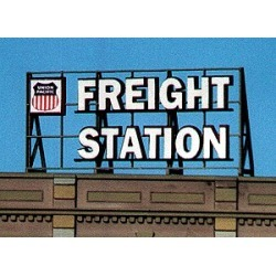 Blair Line 2503 HO, S, O Freight Station Laser-Cut Billboard Kit found on Bargain Bro India from Trainz for $11.95