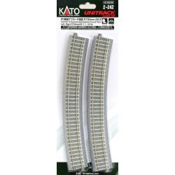 Kato 2-242 730mm Easement Track found on Bargain Bro India from Trainz for $14.59