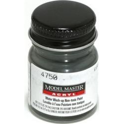 Testors 4750 FS36081 1/2 oz. Euro I Gray Flat Acrylic Paint