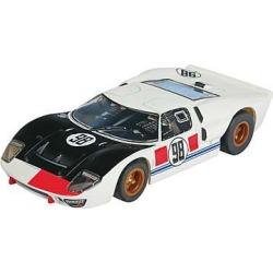 AFX 21033 HO Slot Car Mega G Ford, GT40 #98 Daytona, Clear