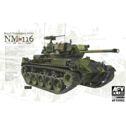 AFV Club 35S82 1:35 NM116 Royal Norwegian Army Tank (Ltd Edition) found on Bargain Bro India from Trainz for $56.99