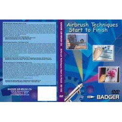 Badger BD103 DVD Airbrush Techniques
