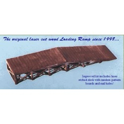 Blair Line 074 N Wooden Loading Ramp Laser-Cut Building Kit found on Bargain Bro India from Trainz for $11.09
