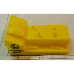 Lionel 18417-3 Yellow Gang Car Cover w/Logo