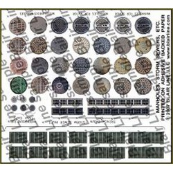 Blair Line 062 N Manhole Covers & Storm Drains found on Bargain Bro India from Trainz for $3.45