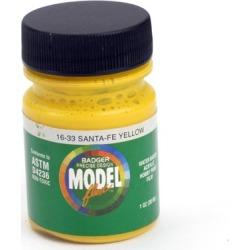 Badger 1633 Modelflex Paint Santa Fe Yellow
