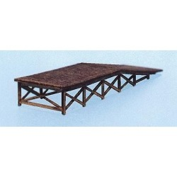 Blair Line 174 HO Wooden Loading Ramp Laser-Cut Building Kit found on Bargain Bro India from Trainz for $14.59