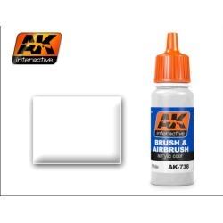AK Interactive 738 White Acrylic Paint 17ml Bottle