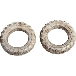 Berkshire Valley 639 O Unpainted Large Tractor Tire (2) found on Bargain Bro Philippines from Trainz for $6.95