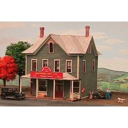 American Model Builders 645 N Nine Mile House Laser-Cut Wood Kit