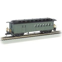 Bachmann 13505 HO Painted & Unlettered 1860-1880 Wood Combine (Green)