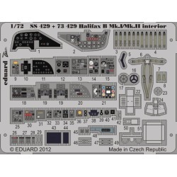 Eduard 73429 1:72 Halifax B Mk.I/Mk.II Interior for Revell Aircraft (P
