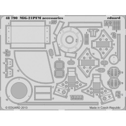 Eduard 48790 1:48 MiG-21PFM Accessories for Eduard Aircraft found on Bargain Bro India from Trainz for $24.99