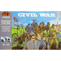 Imex 778 1:32 Confederate Complete Casson Civil War Set