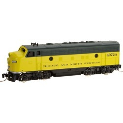 MicroTrains 98001382 Z Chicago & North Western EMD F7A - Standard DC # found on Bargain Bro India from Trainz for $114.99