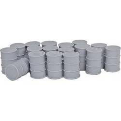 Bar Mills 4017 O 55-Gallon Drums with Closed Tops Unpainted