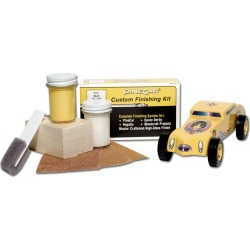 Woodland Scenics P411 PineCar Baja Yellow Finish Kit