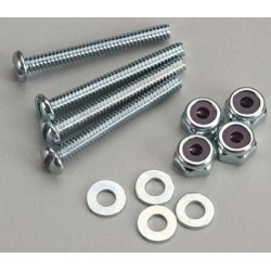 """Dubro 177 Bolt Sets With Lock Nuts 6-32x1-1/4"""" (4)"""