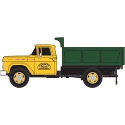 Classic Metal Works 30445 HO 1960 Ford F-500 Dump Truck - County Road found on Bargain Bro Philippines from Trainz for $18.39