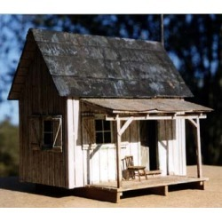 B.T.S. 17227 O Scale Greeley's Place Laser-Cut Craftsman Building Kit