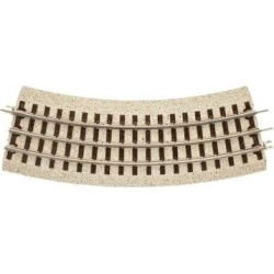 Atlas 1001066 Industrial Rail 3-Rail O36 Full Curve Track Section found on Bargain Bro India from Trainz for $2.99
