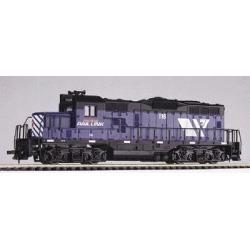 Walthers 931-119 HO Montana Rail Link Diesel GP9M Powered